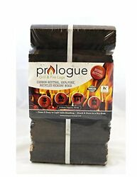 Prologue Grill & Fire Logs 12 pack 20lbs Fire Pit Fireplace Part New