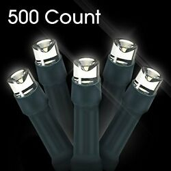 LED Christmas Lights 500 Count LED Solar Powered String Lights Holiday Decoratio