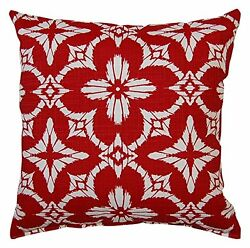 Creative Home Furnishings Aspidoras Red Pillow Set Patio Furniture Pillow New