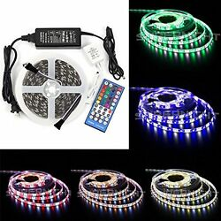 16.4FT SMD 5050 RGB Cool White Color Waterproof LED Strip Indoor Outdoor Flexibl