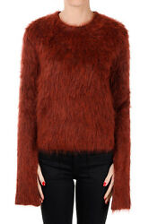 CELINE New Woman Wool Cashmere and Mohair Blend Sweater Made in Italy