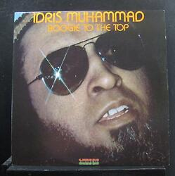 Idris Muhammad - Boogie To The Top LP  VG+ KU-38 1978 Kudu USA Vinyl Record