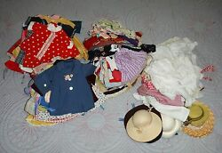 Vintage Doll Clothes various sizes 8