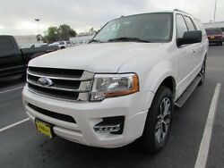 2017 Ford Expedition XLT 2017 Ford Expedition EL XLT 198 Miles White Platinum Metallic Tri-Coat Sport Uti