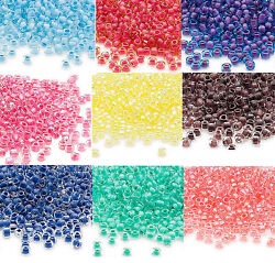 200 Inside Color Matsuno 60 Glass Seed Beads Translucent & Rainbow Spacer Beads $1.28