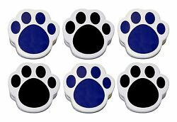 Plastic Paw Print Magnetic Memo Clips Case pack of 72 units. $36.00