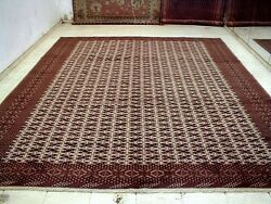 10X12 PERFECT NEVER USED MASTERPIECE 200+KPSI HAND KNOTTED TURKAMON PERSIAN RUG