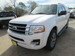 2017 Ford Expedition XLT 2017 Ford Expedition EL XLT 10 Miles White Platinum Metallic Tri-Coat Sport Util