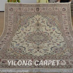Yilong 8'x10' Shag Wool Area Rugs Hand knotted Home Carpets Handmade Online 1340