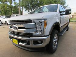 2017 Ford F-250 King Ranch 2017 Ford Super Duty F250 King Ranch 6 Miles White Platinum Metallic Tri-Coat Cr