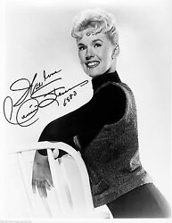 CONNIE STEVENS SIGNED AUTOGRAPHED 8X10 SHE HAND DATED SIGNATURE 1983 WITH COA