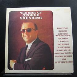 George Shearing - The Best Of George Shearing LP Mint- CAPS 1015 UK Vinyl Record