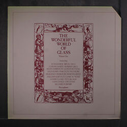 VARIOUS: The Wonderful World Of Glass LP (UK cut corner a few small cover cre