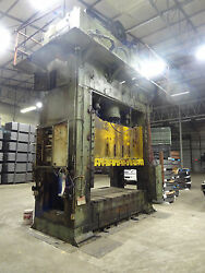650-Ton USI Clearing 4-Point Press S4-650-108-65