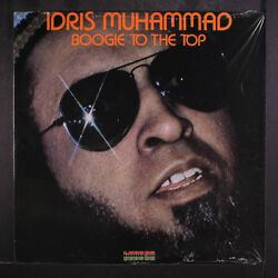 IDRIS MUHAMMAD: Boogie To The Top LP (shrink) Soul