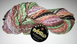 10 Skeins of NORO TRANSITIONS Silk Cashmere Angora Alpaca Camel Wool yarn #25