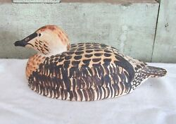 VIntage Pottery Duck Decoy The Irish House Fish ... Home Country Log Cabin Decor