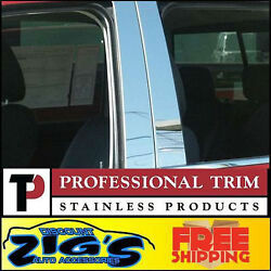 Professional Trim Stainless Steel Pillar Post for 04-08 Nissan Maxima 6PC Set