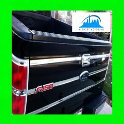 09 10 11 12 13 14 FORD F150 F 150 CHROME TAILGATE TRIM MOLDINGS 6PC WRNTY $38.99