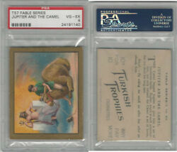 T57 Turkish Trophies Fable Series 1910 Jupiter And The Camel PSA 4 VGEX