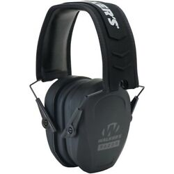 Walkers GWP-RSMPAS Slim Low-Pro Cup Black Earmuffs Hearing Protection Shooting