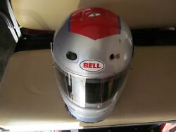 S Mario Andretti Driving Experience Helmet Man Cave She Shed Race School Racing