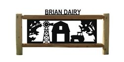 CLINGERMANS OUTDOOR SIGN TRACTORS FARM AND RANCH SIGNS