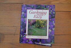 Gardening Made Easy-Step by Step to A Beautiful Garden in 6 binders