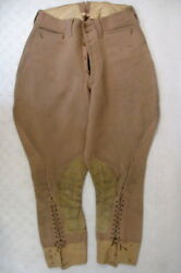 WWI US Army AEF Officer's Private Purchase Wool Trousers or Pants Sz 28