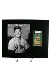 BVG (Beckett) Sports Card Frame with 8 x 10 Photo Opening (Black Design)
