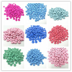 100pcs Wooden Spacer Beads Jewelry Making Kids Toy crafts Accessories 9mm