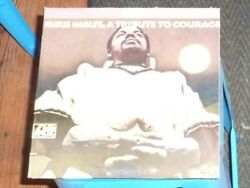 VINYL LP by RUFUS HARLEY = A TRIBUTE TO COURAGE  SC 1504  PROMO COPY