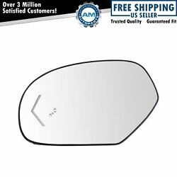 Mirror Glass Heated Arrow Signal Blind Spot Detection Driver Side Left LH for GM