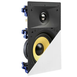 TDX 8quot; 2 Way In Wall Home Theater Surround Sound Speaker Flush Mount White New $49.95