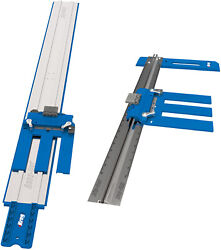 Kreg Accu Cut 48quot; Circular Saw Guide Track System and Rip Cut 24quot; Edge Guide $114.00