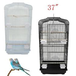 37quot; Bird Parrot Cage Canary Parakeet Cockatiel Finch Cage 2 Colors $39.96
