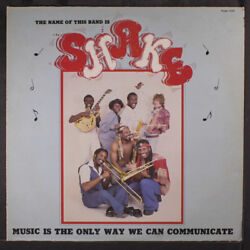 SHAKE: Music Is The Only Way We Can Communicate LP Hear! (light scrape on cover