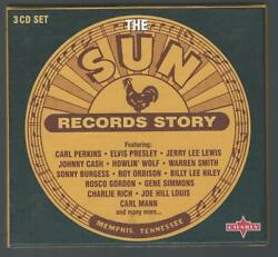 3-CD: VARIOUS - The Sun Records Story