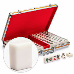 Champion Size Chinese Mahjong Game Set with 146 Large Tiles and Aluminum Case $69.99