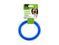 Pet Dental Chew Ring ToyHelps to Promote Healthy Teeth and Gums Assorted Color $3.14