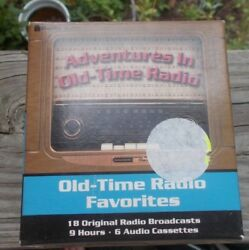 Old Time Radio Favorites 6 Audio Cassettes Amos 'n' Andy Midnight