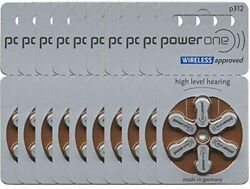 Power One Size Size 312 Hearing Aid Batteries 20 Packs Total of 120 Batteries $28.99