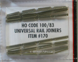 ATLAS HO CODE 83 TO 100 UNIVERSAL TRACK RAIL JOINERS connectors train ATL170 NEW $4.94