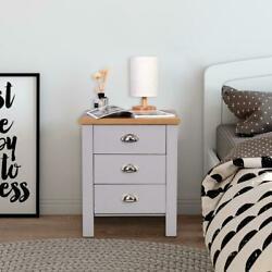 New Modern Set of 2 PCS Night Stand End Side Bedside Table Organizer Wood White $65.99