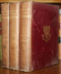 1898 The Political Life of W E Gladstone Illustrated by Punch 3 Vols Complete