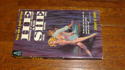VINTAGE PAPERBACK: HE and SHE: STORY OF A MIXED MARRIAGE comte 1960 AVON