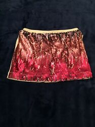 LITTLE MISS MATCHED GIRLS SEQUINED SKIRT SIZE 12