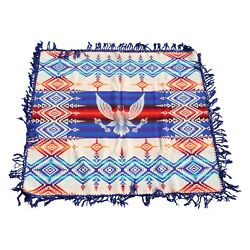 Beaver State Trade Blanket Wool Early 1900s Chief Joseph Eagle