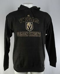 Vegas Golden Knights Men's Big & Tall Heart & Soul Pullover Hoodie Charcoal NHL