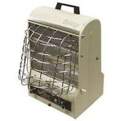 NEW TPI CORP 198TMC 120 VOLT RADIANT ELECTRIC HEATER 5120 BTU FAN FORCE 6110571 $69.95